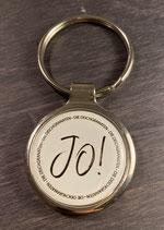 """Schlüsselanhänger: """"JO!"""""""