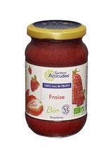 CONFITURE DE FRAISE BIO 100% ISSU DU FRUIT 310 g