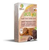 BISCUITS SANS SUCRE AU CHOCOLAT BELKORN ACTIVA 150 g