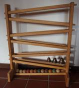 Spielzeug Holz-Kugelbahn