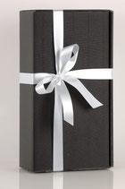 Elegante schwarze Geschenkbox
