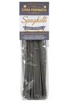 Spaghetti nero di seppia Gemma (mit wertvollen Weizenkeimen)