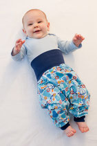 Sewing Pattern for Splitpants 0-3 Months