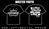 WASTED YOUTH WRECKING CREW Shirt - Größe S, M, L, XL, XXL, 3XL