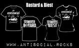 Tätowierter Bastard Shirt oder Tätowiertes Biest Girlie