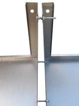 Set Verbindungsschrauben M6 x 60 mm zum Verbinden von Böschungselementen