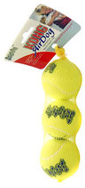 Kong Air Squeaker set de 3 balles
