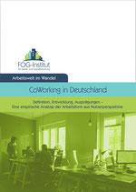 Coworking in Deutschland - Definition, Entwicklung, Ausprägungen – Eine empirische Analyse der Arbeitsform aus Nutzerperspektive