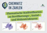 CHEMNITZ in ZAHLEN: Thematische Stadtteilkarten