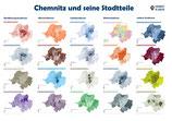 """Poster """"Chemnitz und seine Stadtteile"""""""