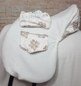 Unicorn Horse Fashion Set Sattelschoner und Steigbügelsocken