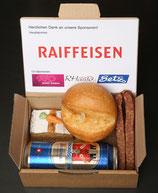 Lunch-Paket mit Bier