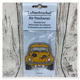 VW Käfer Beetle Lufterfrischer - COCONUT/GELB
