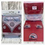VW T1 Bus Shopper Tasche, faltbar - VINTAGE ROT