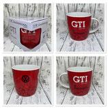 GTI Kaffeebecher rot
