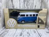 VW Bulli ferngesteuert blau