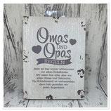Omas und Opas Regeln