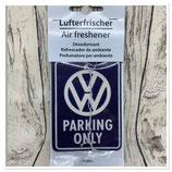 VW Lufterfrischer - PARKING ONLY