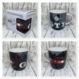 GTI Kaffeebecher schwarz