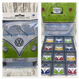 VW T1 BUS Shopper Tasche, faltbar  - FRONTEN/BUNT