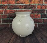 Bauchige Vase mit Noppen