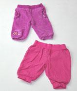 Nicki Hose + Jogginghose Gr. 62, fuchsia/pink