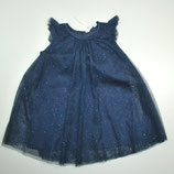Kleid Gr. 98, dunkelblau