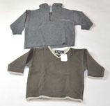 2 Sweater Gr. 86, braun/grau - Flohmarkt