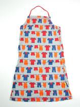 Kleid Gr. 110 (?), gemustert