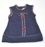 Kleid Gr. 74 (?), blau/Karo
