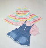 2 Kleider + Shirts Gr. 74