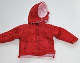 Winterjacke Gr. 74, rot/rosa - Flohmarkt
