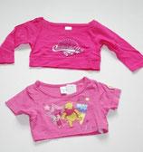 2 KA-Shirts Gr. 104, pink