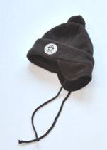 Fleecehaube Gr. 46, dunkelbraun