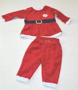 Weihnachts-Sweater + Hose Gr. 74