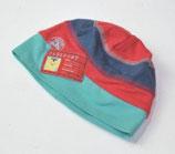 Dünne Haube Gr. 47/49 (?), grün/blau/rot