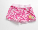 Short Gr. 62, pink gemustert - Flohmarkt