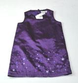 Satinkleid Gr. 92, violett