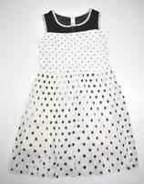 Kleid Gr. 128, gepunktet