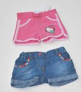 Jeansshort + Short pink Gr. 62