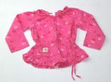 LA-Shirt Gr. 3 Jahre, pink gemustert