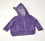 Kuschelweste Gr. 68, violett