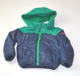Jacke Gr. 86, blau/grün