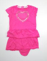 Body-Shirt Gr. 86, pink