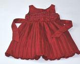 Festliches Kleid Gr. 98, rot