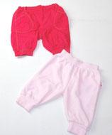2 Hosen Gr. 62, pink/rosa