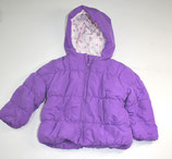 Winterjacke Gr. 80, violett
