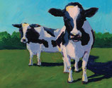 NC 001 Cow Pals II Note Cards 8 Pack
