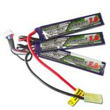 Lipo TURNIGY NANO-TECH 1000 MAH 3S 20-40C LIPO 11.1 V