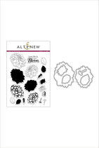 Altenew Dahlia Blossoms Stamp & Die Bundle